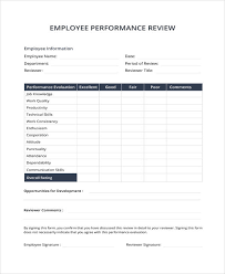 Sample Employee Performance Appraisal 9 Sample Performance Review Templates Pdf Doc Free Premium