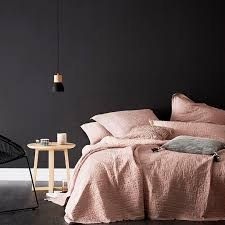 home republic vintage washed linen coverlet pink bedroom quilt covers coverlets adairs