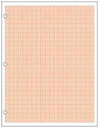 Mm Graphing Metric Graph Paper Mm Cm Red Sheet Ream Mm Graphing