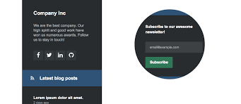 Best Sidebar Designs Freebie 5 Elegant And Responsive Sidebar Templates