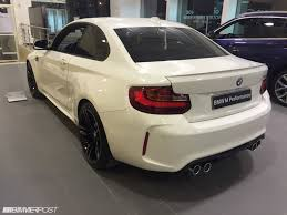 BMW Convertible full name for bmw : Alpine White BMW M2 hits Luxembourg dealership