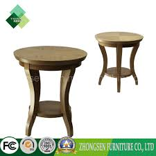 china manufacturer wooden round tea table used on living room china side table wooden table