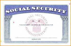 fake social security card template cardss co