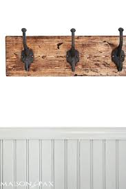 Sturdy Coat Rack Magnificent Wall Coat Rack With Hooks This Towel Rack Is Gorgeous The Rustic