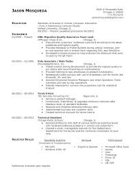 Qa Sample Resume With Appium Test Analyst Software Tester Format ...