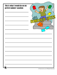 writing prompt this is what i would do on my perfect summer writing prompt this is what i would do on my perfect summer vacation woo jr kids activities