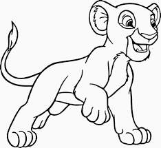 simba coloring pages to print coloring pages