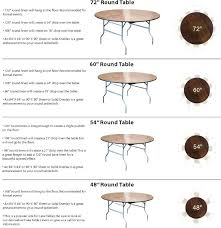 what size tablecloth for 5 foot round table best here it is your table linen sizing what size tablecloth for 5 foot round table