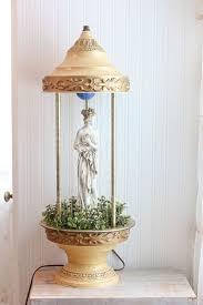 grecian dess rain lamp vintage oil rain lamp home decor gold table lamp white lady statue motion light semi woman greek