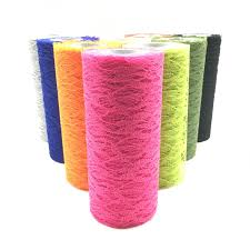 <b>15cm 10Yards</b> Lace Tulle Roll Apparel Sewing and Fabric Wedding ...