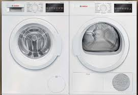 bosch stackable washer dryer. Modren Washer Bosch White 22 Cuft Stackable Front Load Washer And 40 Cuft Inside Dryer D