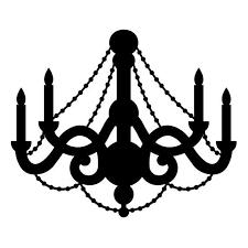 chandelier clipart decorative light