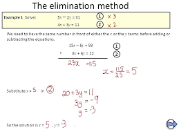 systems elimination combination method example 1 learning algebra math linear equations