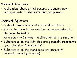 2 chemical reactions