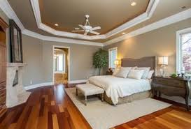 Traditional Master Bedroom with 52