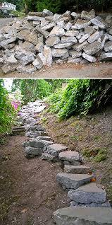 garden steps stairs diy 2