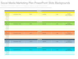 Social Media Plan Template New 48 Marketing Plan Template An Example Editorial R For A Social
