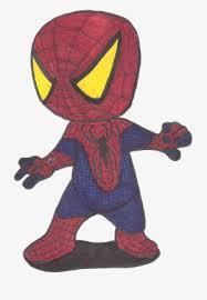 amazing chibi spider cartoon drawings