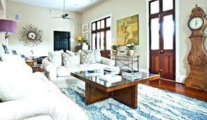 fashion lake blue sitting room fl
