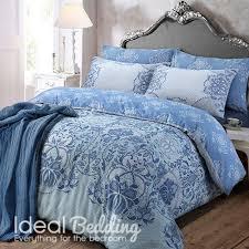 lace paisley blue duvet quilt bedding cover and pillowcase bedding set duvet sets complete bedding sets bed sheets pillowcase