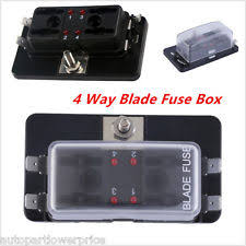 alfa romeo 159 fuses fuse boxes 12v 32v car boat 4 way terminals circuit standard ato atc blade fuse box holder