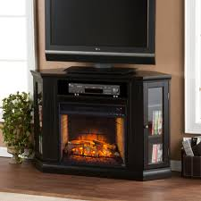 48 claremont convertible media infrared fireplace black