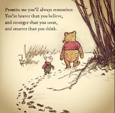 Christopher Robin Quotes New In Honour Of Aa Milne's Birthday My Favourite Winnie The Pooh Quote