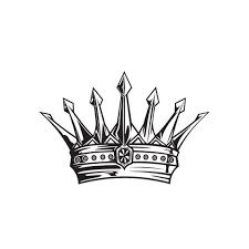 kings crown vinyl wall decal sticker