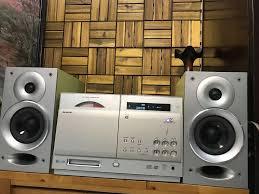 Dàn nghe nhạc Nhật Bãi 100V loa Amply aux Fm - 87783284