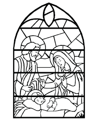 Coloring Pages Stained Glass Window Coloring Pages Books Free