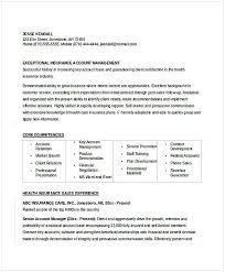 Insurance Manager Resume Insurance Account Manager Resume Resume For Manager Position