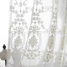 modest decoration sheer embroidered curtains terrific aliexpress com european palace
