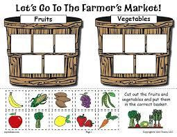 Free Fruits And Vegetables Worksheets For Kindergarten Fruit Pdf