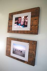 simple and rustic s wood picture frame
