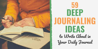 Personal Journaling 59 Journaling Ideas What To Write About In A Daily Journal
