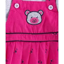Buy U R Cute Full Sleeves Tee With <b>Bear Patch Dress</b> & Leggings ...