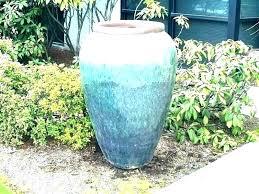glazed garden pots large clay planters pottery glazed ceramic plant ceramic outdoor planters ceramic garden pots