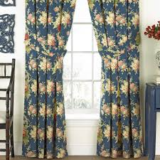 Wide Window Treatments sanctuary rose floral window treatment by waverly 4488 by xevi.us