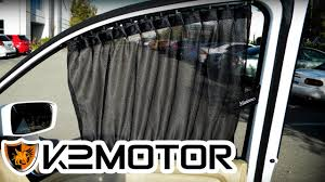 k2 motor installation video universal vip sliding window curtain you