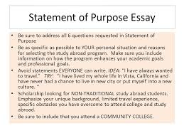how to apply for gilman scholarship for study abroad or how to  statement of purpose essay be sure to address all 6 questions requested in statement of purpose