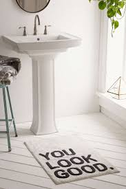 Plum & Bow You Look Good Bath Mat - Urban Outfitters