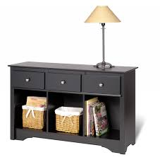 hall tables with drawers. Full Size Of Black Wooden Console Table With Drawer And Open Shelf Using Storage Basket White Hall Tables Drawers