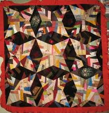 POINT STAR or ROCKY ROAD ANTIQUE QUILT, silk & FOUR POINT STAR or ROCKY ROAD ANTIQUE QUILT, silk Adamdwight.com