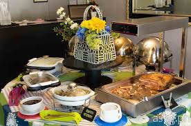 gallery of way dressed brushed whizzed and best buffet style wedding ideas on dinner best round table jpg
