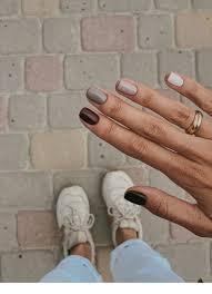 Different Tones Nails Inspiring Ladies Make Up V Roce 2019