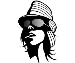 Fashion Girl Vector Clip Art