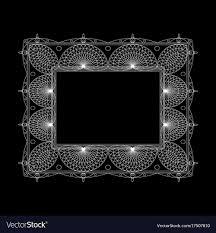 Black ornate frame Vintage Black Ornate Frame And Borders Set Vector Image Vectorstock Ornate Frame And Borders Set Royalty Free Vector Image
