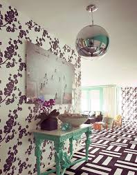 Interior Decorating with Wallpaper  outside the box ideas by Novogratz