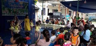 Ngày hội trung thu của các bé trường mầm non Tuổi Thơ năm học 2018-2019