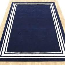 navy blue area rug 9x12 navy bordered modern style woolen area rug navy blue